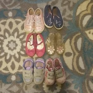 Toddler shoes x6